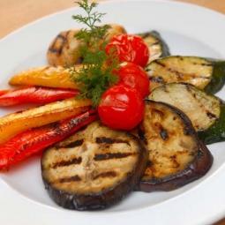 Соте - овощи на костре